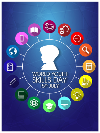 youth skills day background