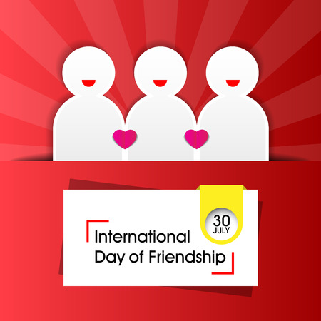 International Day of Friendship Background