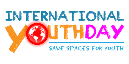 International Youth Day poster template