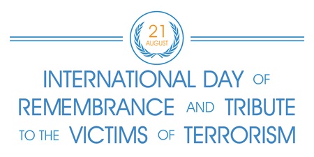 International Day of Remembrance and Tribute to the Victims of Terrorism Illusztráció