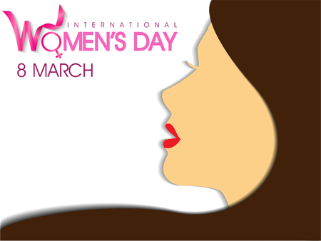 International Womens day Illusztráció
