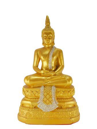 budda: sitting golden Budda