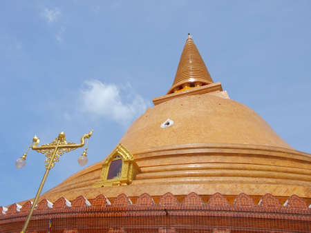 temple phra nakhon chedi  photo