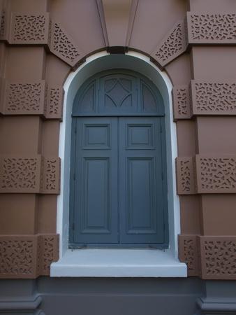 old elegant door