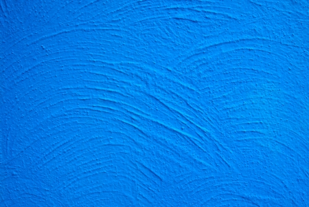 rough concrete wall texture with blue color