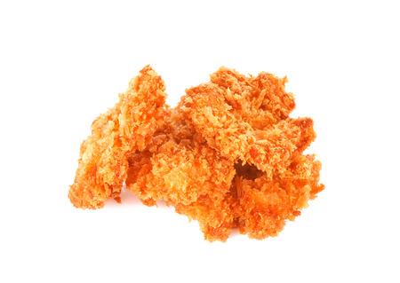パン粉エビの揚げ物 写真素材