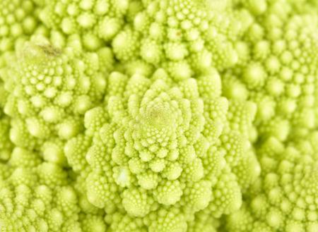 Cauliflower heads Stock Photo