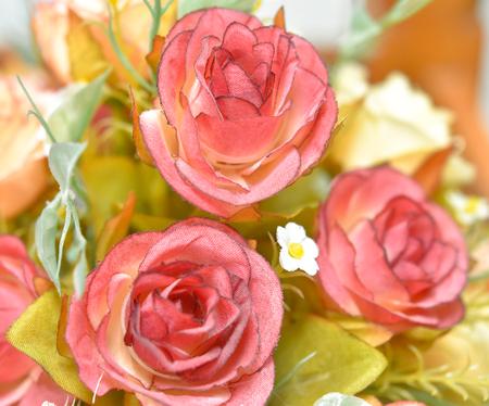 white fabric texture: Rose Fabric Stock Photo