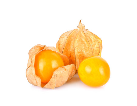 Cape Gooseberry on a white background