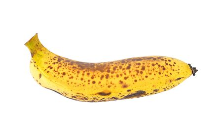 banana isolated on white background Stock Photo