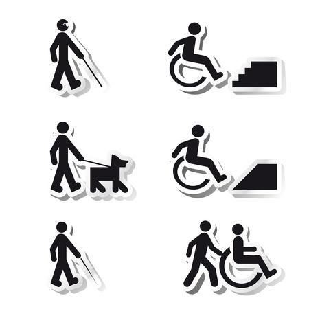 핸디캡: 장애에 대한 스티커