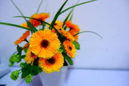 fake yellow flower