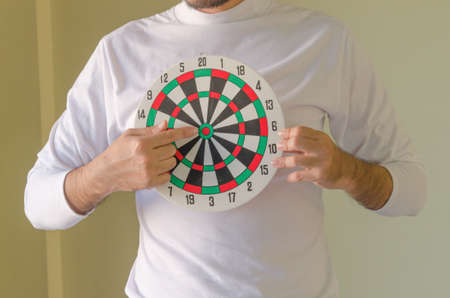 Dartboard Standard-Bild