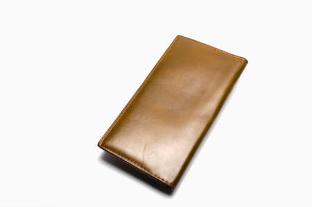 wallet: Leather Wallet Stock Photo
