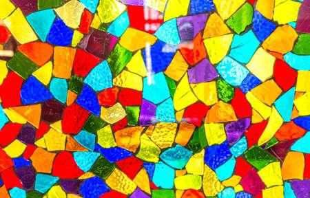 mosaic: colorful mosaic glass