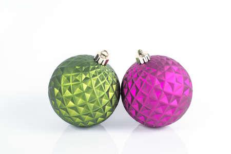 christmas light bulbs: Christmas light bulbs Stock Photo
