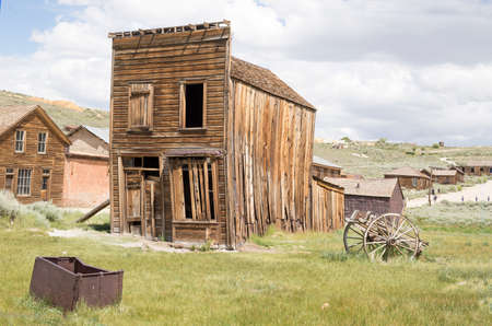 Ghost town, old town USA