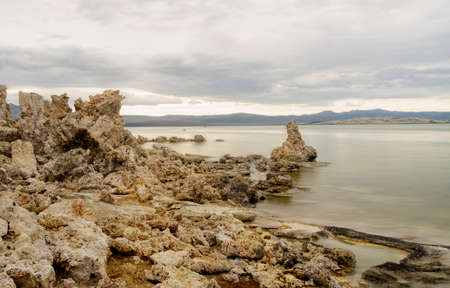 tufa at Mono Lake, U.S.A