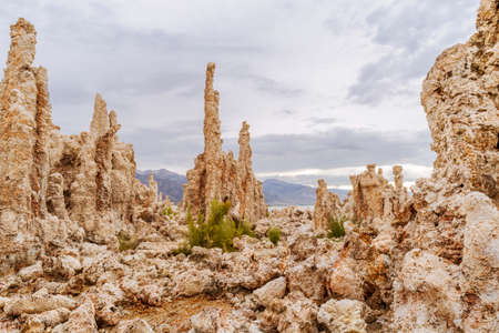 tufa at Mono Lake, U.S.A