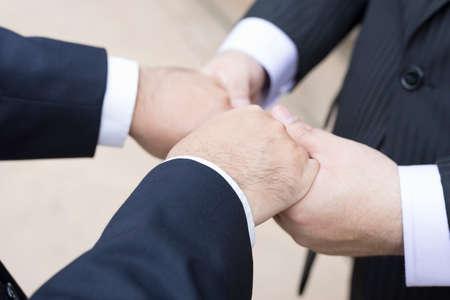 vow: gay couple exchange vow Stock Photo
