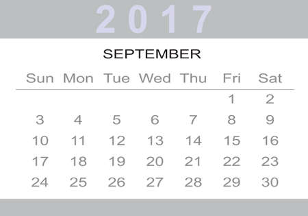 monthly: monthly Calendar 2017
