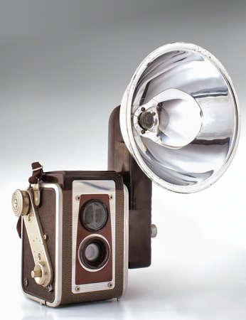 Old camera Reklamní fotografie
