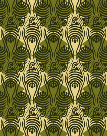 Abstract vector seamless pattern Stock Vector - 8503952
