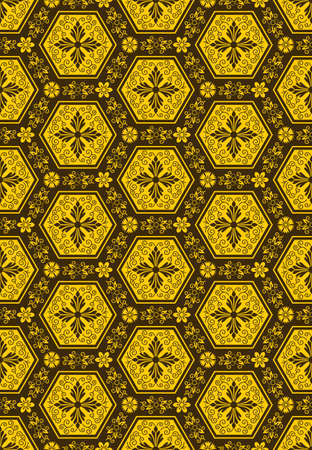 Abstract vector seamless pattern Vector
