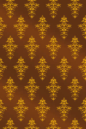 Ornamental pattern vector background Illustration