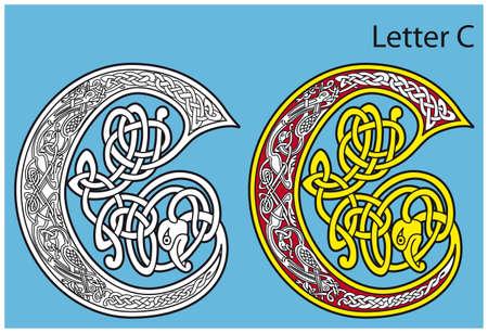 keltisch: Ancient Celtic Alphabet (26 Buchstaben)