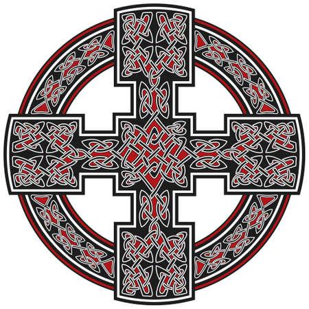 Vector celtic cross traditional ornament Stock Vector - 8504091