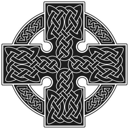 Vector celtic cross traditional ornament Stock Vector - 8504210