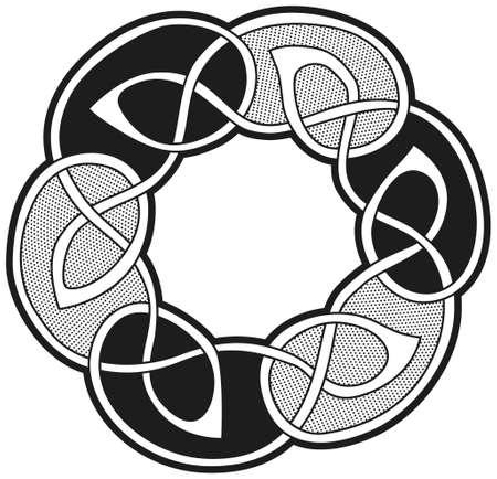 Celtic vector design Vector