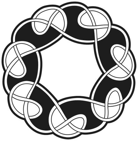 Celtic vector design Vector