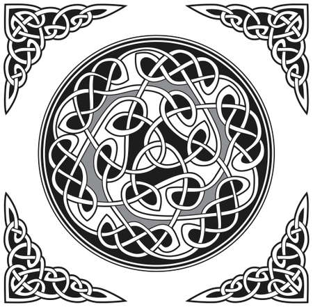 Celtic vector design