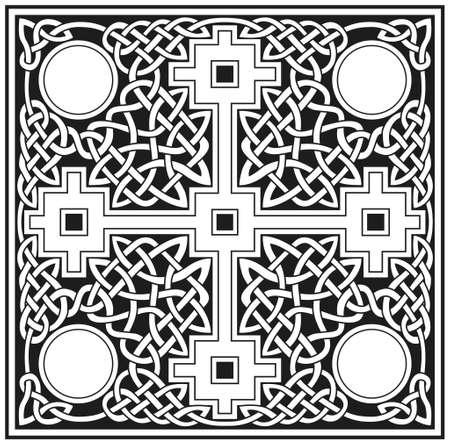croce celtica: Disegno vettoriale croce celtica