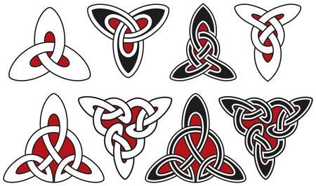 Set of celtic design elements Stock Vector - 8503994