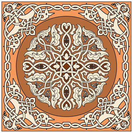 Ancient old russian vector pattern Stock Vector - 8504276