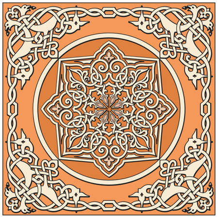 Ancient old russian vector pattern Stock Vector - 8504257
