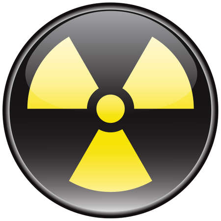 Radiation vector sign Stock Vector - 8504263