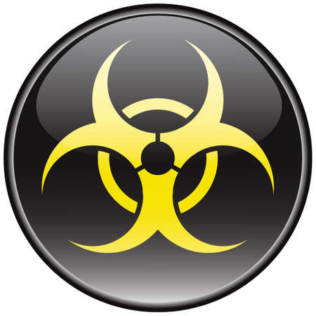 Biohazard vector sign Stock Vector - 8504271