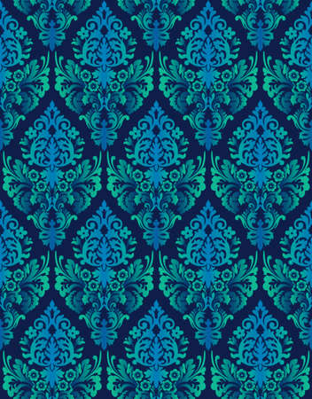 Seamless ornamental luxury pattern photo