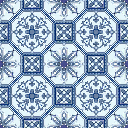 Seamless ornamental oriental pattern photo