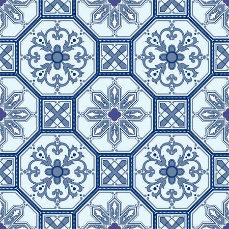 Seamless ornamental oriental pattern