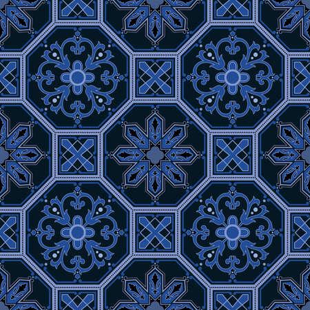 Seamless ornamental oriental pattern Stock Photo - 9097349