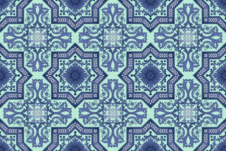 Seamless ornamental oriental pattern Stock Photo - 9097352