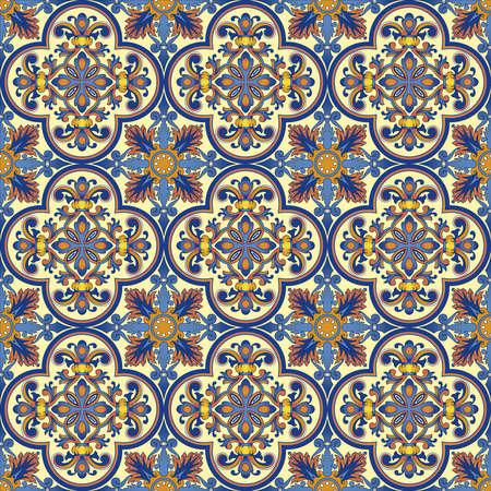 Seamless ornamental oriental pattern Stock Photo - 9097355