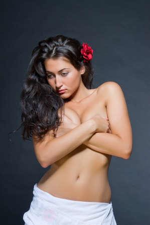 Roja topless fucking