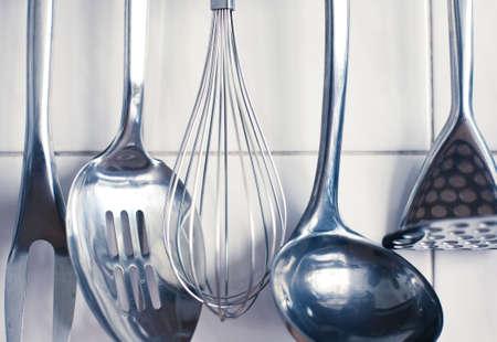 kitchen tools: Keuken gereedschap. Set van tools voor het koken.