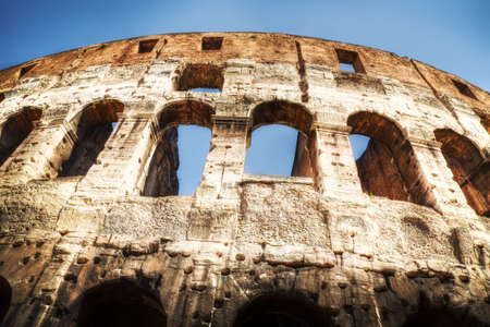 Coliseum in Rome Italy. HDR image. Stock Photo - 5232126